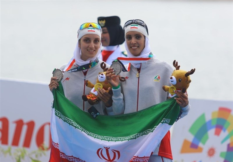 Asian Games: Iran Snatches Silver at Women's Lightweight Double Sculls