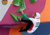 کسب اولین مدال تاریخ سنگنوردی بانوان در رده بزرگسالان توسط رکابی