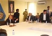 مشاجره لفظی وزیر کشور افغانستان با معاون امنیتی پلیس کابل در حضور رسانهها+فیلم
