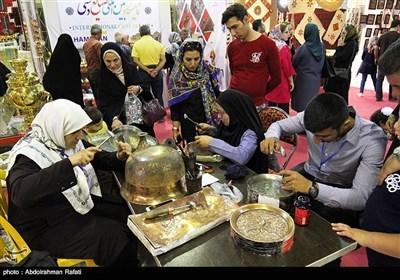 نمایشگاه بین المللی صنایع دستی در همدان-رافتی