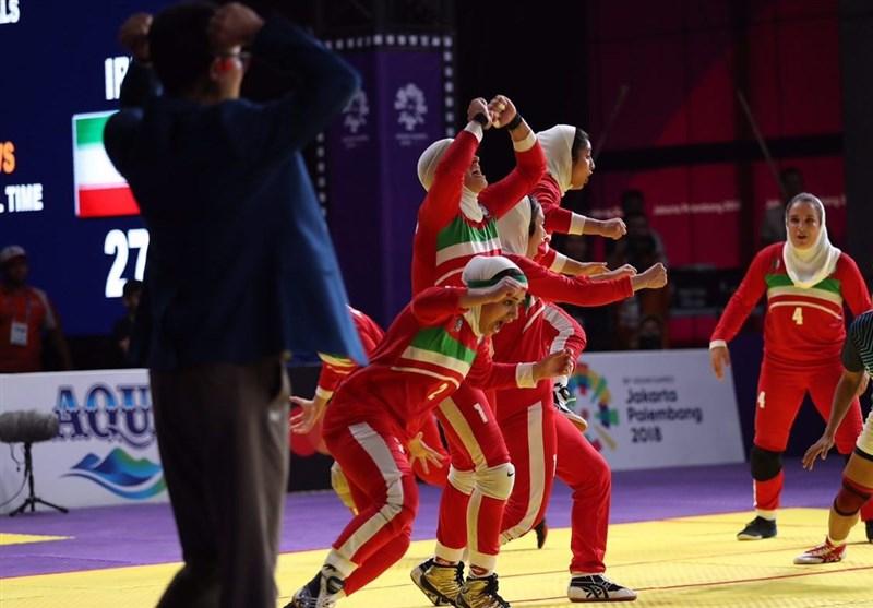 Asian Games: Iran's Women Win Gold in Kabaddi