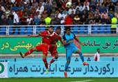 لیگ برتر فوتبال| برتری پدیده مقابل پیکان در نیمه اول