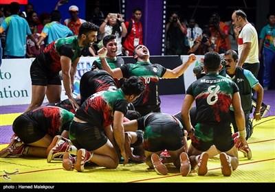 قهرمانی تیم ملی کبدی مردان ایران در بازیهای آسیایی 2018