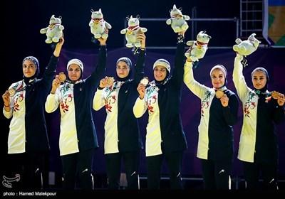 Iranian Men, Women Win Title in Kabaddi at Asian Games 2018