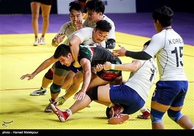 دیدار تیمهای ملی کبدی مردان ایران و کره جنوبی - فینال بازیهای آسیایی 2018