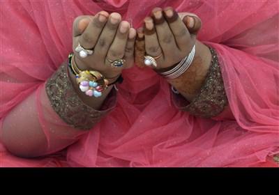 مہندی لگے ہاتھوں سے ملکی سلامتی کےلیے دعائیں کی گئیں