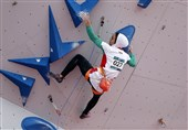کسب سهمیه المپیک ساحلی توسط بانوی سنگنوردی ایران