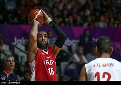 دیدار تیمهای بسکتبال ایران و سوریه - بازیهای آسیایی 2018
