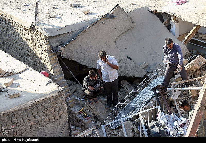 10 Killed in Building Collapse after Gas Explosion in NE Iran