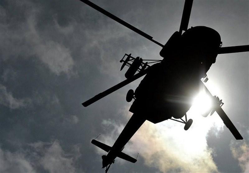 انتقال اعضای گروه تروریستی داعش با بالگردهای دولتی در افغانستان + فیلم