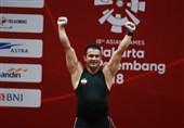 وزنهبرداری قهرمانی جهان| سهراب مرادی: با همه وجود برای این قهرمانی جنگیدم/ مدالم را به مردم ایران تقدیم میکنم