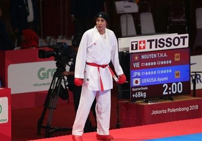 لیگ جهانی کاراته وان پاریس  عباسعلی طلایی شد/ پایان کار ایران با ۲ طلا و یک برنز