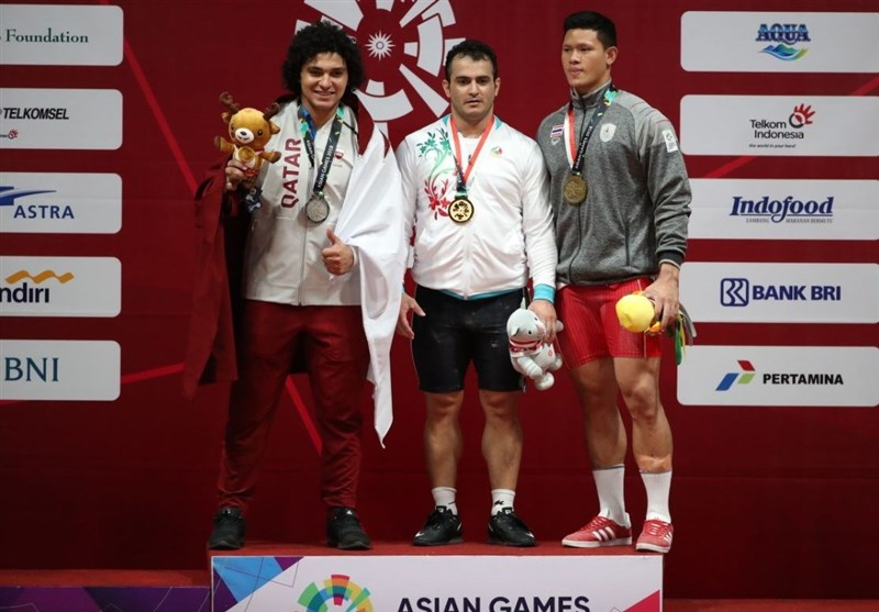 Asian Games: Sohrab Moradi Wins Gold in Weightlifting (+Video)