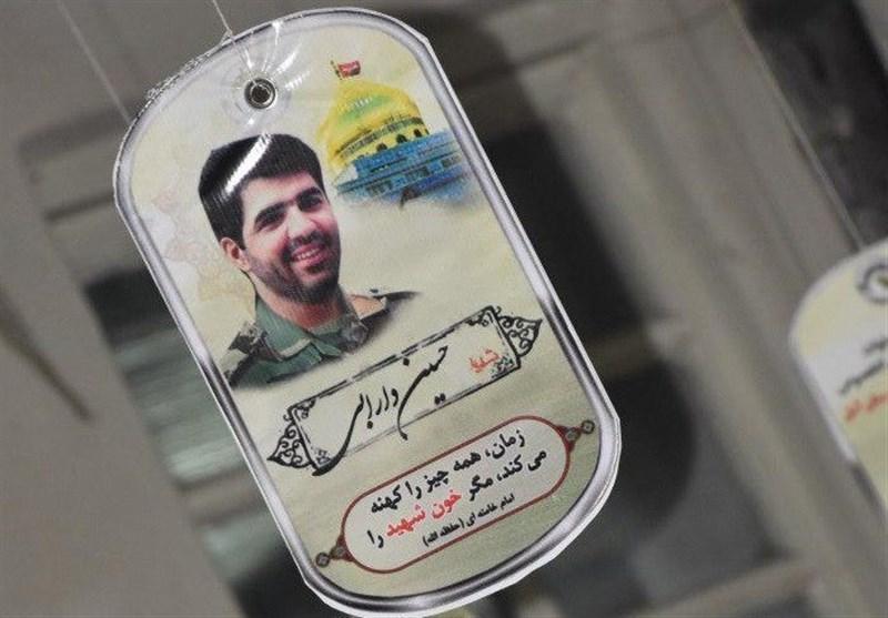 حواشی برگزاری مراسم سالگرد یک شهید مدافع حرم+عکس
