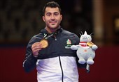 Sajjad Ganjzadeh Wins Iran's 14th Gold Medal at Asian Games