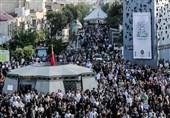 برگزاری جشنواره نقالان رضوی در میدان امام حسین(ع)