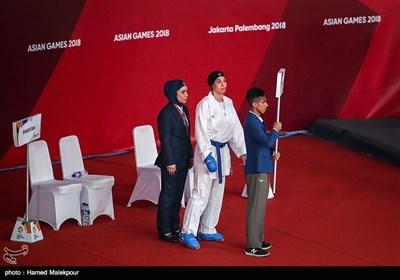 حمیده عباسعلی در ردهبندی وزن 68+ کیلوگرم مسابقات کاراته - بازیهای آسیایی 2018
