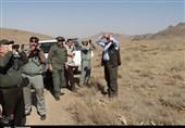 بازدید مسئولان محیط زیست از منطقه حفاظت شده هفتادقله اراک به روایت تصویر