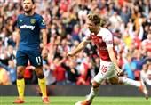 لیگ برتر انگلیس| آرسنال با فتح دربی اولین پیروزی فصلش را کسب کرد