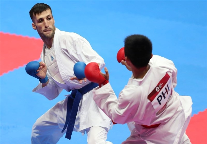 بازگشت مهدی زاده به وزن 60- کیلوگرم در لیگ جهانی کاراته وان مراکش