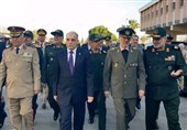 Iran's Defense Minister in Syria for Talks