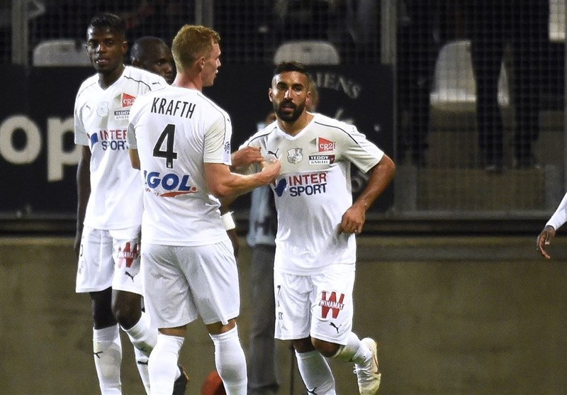 Iran's Ghoddos Scores in His Debut for Amiens