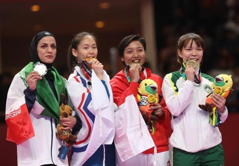 Iran's Khaksar Seizes Karate Silver at Asian Games
