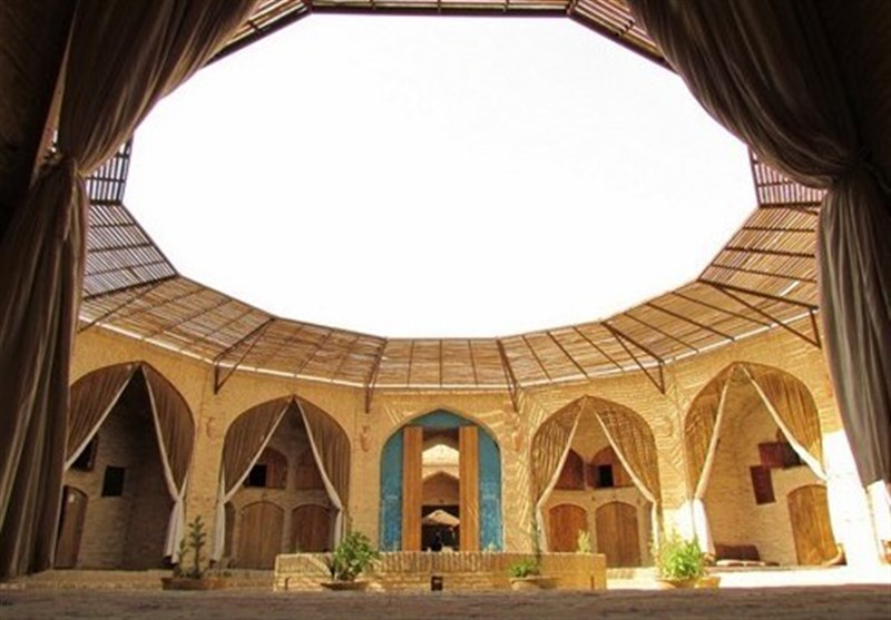The Zein-o-din Caravanserai in Iran's Yazd