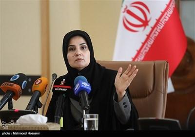 نشست خبری لعیا جنیدی معاون حقوقی رئیس جمهور