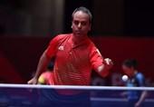 افشین نوروزی؛ سومین ملیپوش ایران در رقابتهای تنیس روی میز قهرمانی آسیا