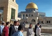 مستوطنون یقتحمون باحات المسجد الأقصى بحمایة قوات الاحتلال