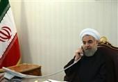 فی اتصال مع عبدالمهدی..روحانی: تضییع حقوق الشعبین الفلسطینی والسوری مقلق جداً لأمن المنطقة