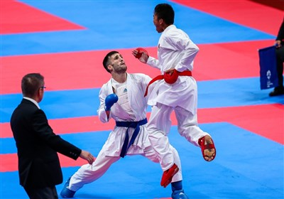لیگ جهانی کاراته وان پاریس  بهمنیار از رسیدن به دیدار نهایی بازماند/ حذف مهدیزاده، میرزایی و مسکینی در دور نخست