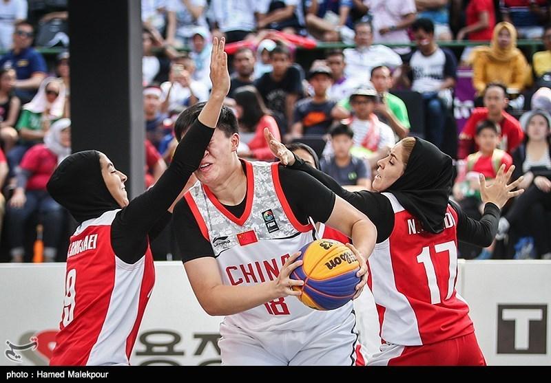 مسابقات آزاد بسکتبال سه نفره| بانوان ایران به سکوی سوم نرسید