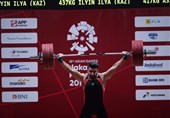 Iran's Weightlifter Hashemi Snatches Bronze: Asian Games