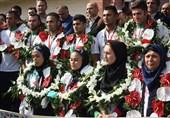 مراسم استقبال از کبدیکاران ملیپوش و قهرمان گلستان در گرگان برگزار شد+تصاویر