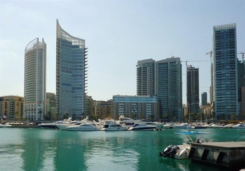 لبنان|برچیده شدن نماد صهیونیستی از مرکز بیروت+عکس