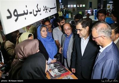 سیدحسن قاضی زاده هاشمی وزیر بهداشت در چهارمین روز جشنواره فیلم سلامت