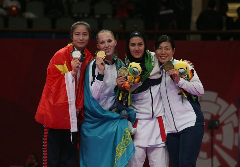 Pegah Zangeneh Wins Karate Bronze Medal at Asian Games