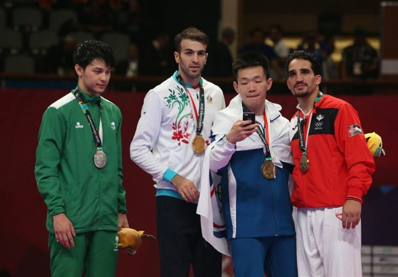 Iran's Bahman Asgari Wins Gold Medal: Asian Games