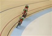 Iran Pockets Three Medals at Track Asia Cup 2019