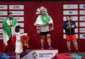 Asian Games: Heavy Weightlifter Salimi Earns Iran's 16th Gold Medal