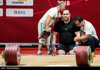 خداحافظی بهداد سلیمی از دنیای وزنه برداری - بازی های آسیایی 2018