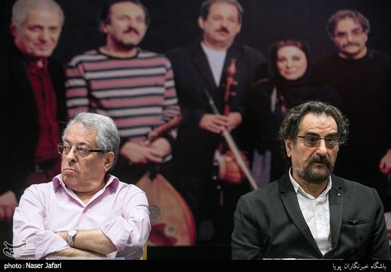 نشست ناظری و کامکار به روایت عکس