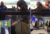 امریکی ایئرپورٹ پر مسلمان لڑکی سے ناروا سلوک