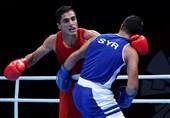 بوکس قهرمانی آسیا| موسوی گام اول را با شکست بوکسور تایلندی محکم برداشت