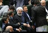 سوال از رئیسجمهور| کدام وزرا به همراه روحانی وارد صحن مجلس شدند؟