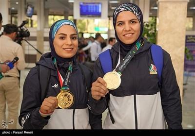 مراسم استقبال از قهرمانان کبدی کرمانشاهی