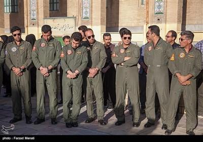 تشییع پیکر شهید سرهنگ خلبان منوچهر فتاحی