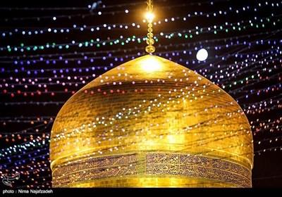 عید غدیر کی مناسبت سے حرم رضوی میں خوشیوں کا سماں